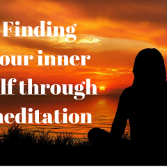 Finding your inner self through meditation