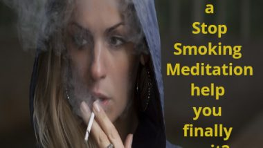stop smoking meditation