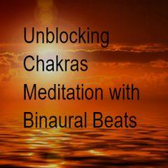 unblocking chakras meditation