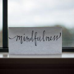 Get a mindfulness habit