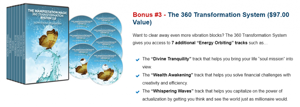 Magic Manifestation 360 transformation system