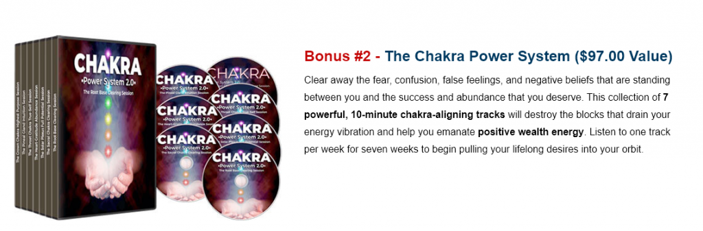 Manifestation Magic Chakra Power System